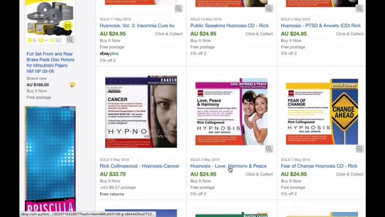 Product Research Using eBay Sales